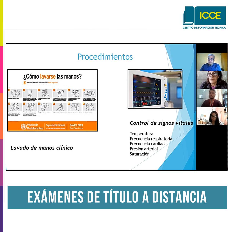 ICCE realizará cuarta jornada de exámenes de título a distancia